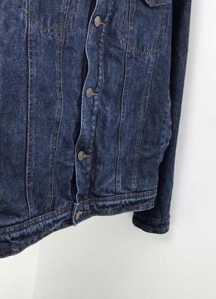Мужская шерпа cedarwood state джинсовая куртка джинсовка3 фото