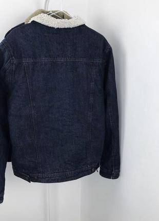 Мужская шерпа cedarwood state джинсовая куртка джинсовка6 фото
