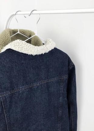Мужская шерпа cedarwood state джинсовая куртка джинсовка7 фото
