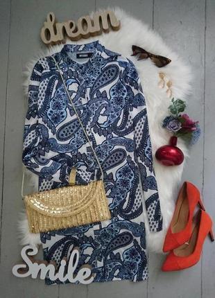 Актуальное платье рубашка туника накидка кимоно №318