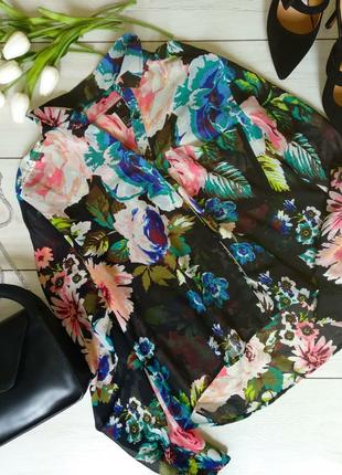 Яркая летняя блузка h&m2 фото