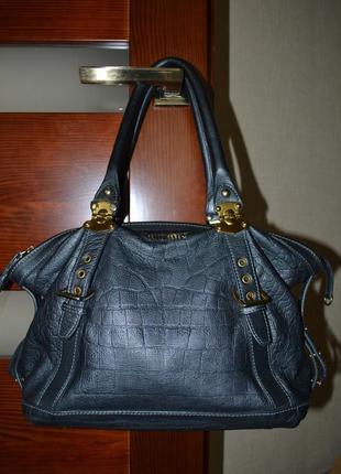 Шикарная сумка vip класса известного бренда miumiu (оригинал)