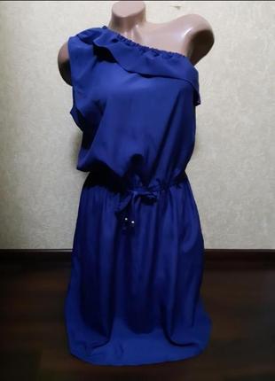 Платье сарафан на одно плечо