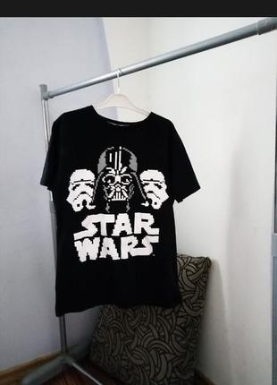 Крутая футболка star wars