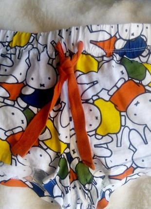 Домашние шортики miffy р 36-38