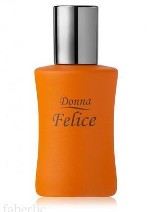 Шок цена! скидка 70% парфюмерная вода для женщин donna felice 50 мл