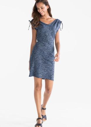 Xs-m, новое платье с цветочным принтом