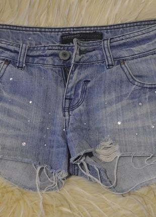 Джинсовые шорты момы от  bershka