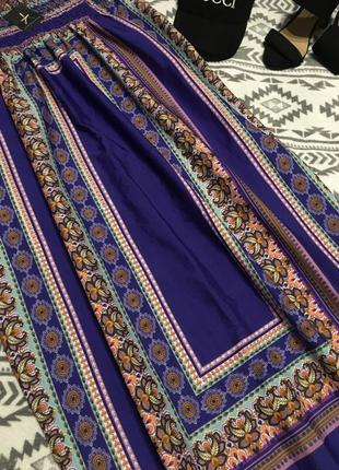Новое платье с рисунком из полиэстера6 фото