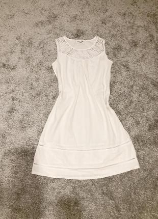 Платье льняное, сарафан, летнее платье