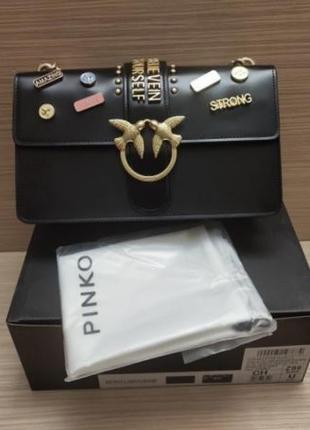 Pinko пинко love bag 27 см сумка женская черная