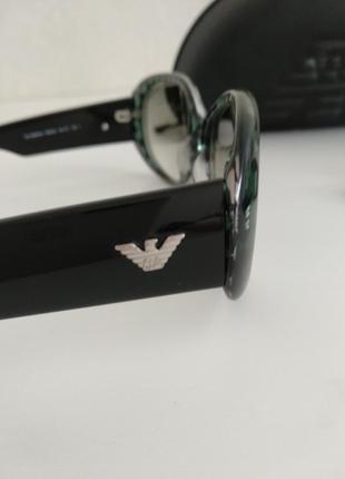 Крутые классические женские солнцезащитные очки armani emporio3 фото