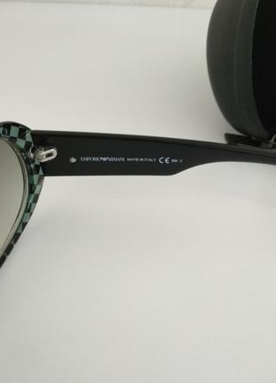 Крутые классические женские солнцезащитные очки armani emporio4 фото