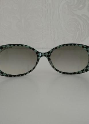 Крутые классические женские солнцезащитные очки armani emporio6 фото