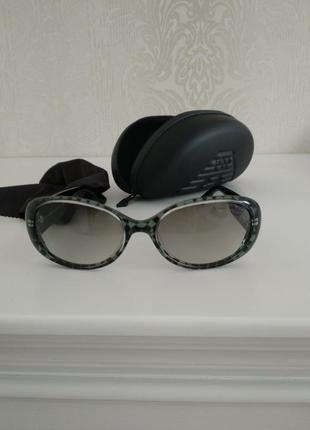 Крутые классические женские солнцезащитные очки armani emporio