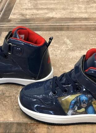 Кроссовки ботинки для мальчика синие