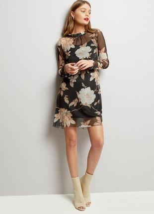 Платье-сетка marks & spenser (uk 10, р.m)