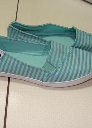 Летние туфельки-мокасины fila 36 р.