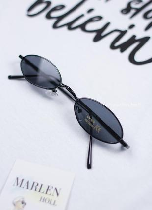 Супер новинка, тренд 2019 узкие овальные очки