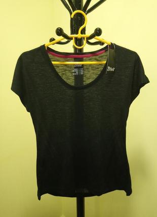 Черная футболка crivit4 фото