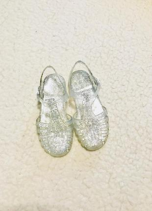 Босоножки сандали с блестками next