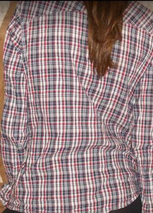 Рубашка в клетку3 фото