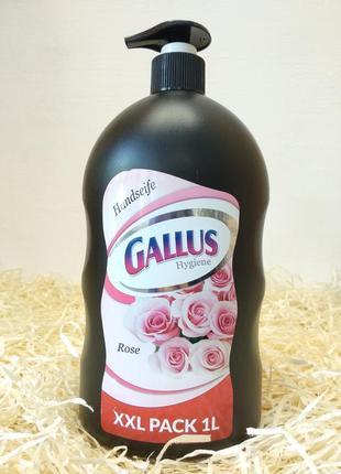 Жидкое мыло gallus роза. 1 л