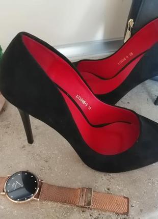 🖤❤️чёрные туфли лодочки❤️🖤