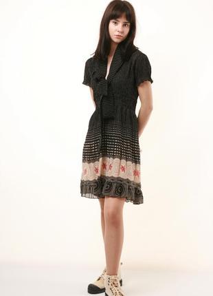 Летнее легкое воздушное платье сарафан zara свободный крой  515