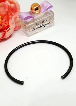 Браслет-кольцо в стиле минимализм гематитовое покрытие дания pilgrim