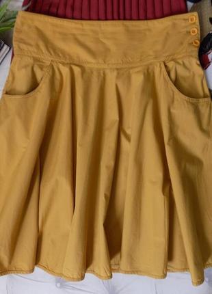 Шикарная летняя юбка солнце