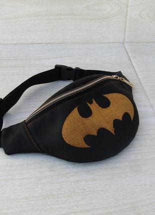 """Детская бананка handmade """"бэтмен"""""""