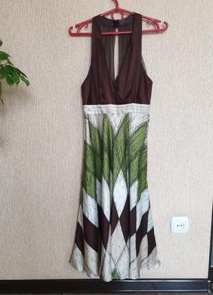 Невероятно нежное, красиво платье шёлк coast