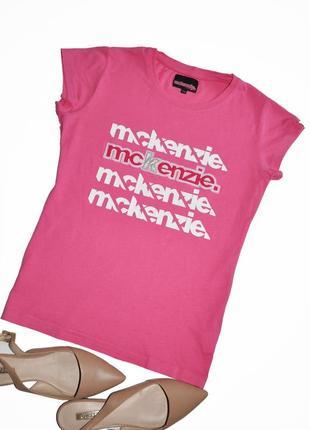 Актуальная фирменная футболка mckenzie