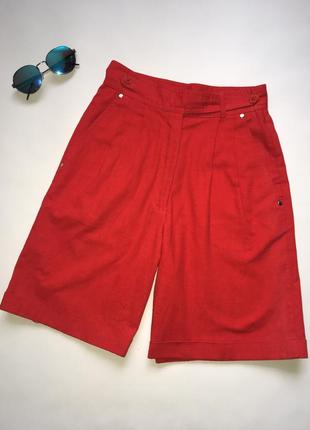 Трендовые красные шорты бермуды 🔥 модницы оценят!!!
