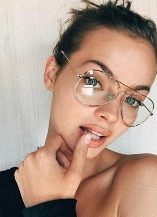 Имиджевые очки капля