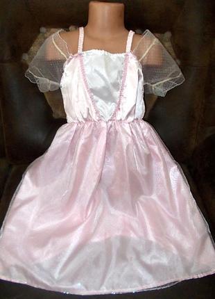 Платье маскарадное для маленькой принцессы 4-6 лет