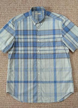 Burberry brit рубашка тенниска +лён оригинал (l) новая