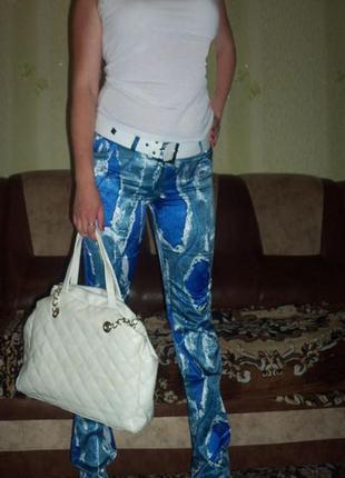 Летние штаны с поясом