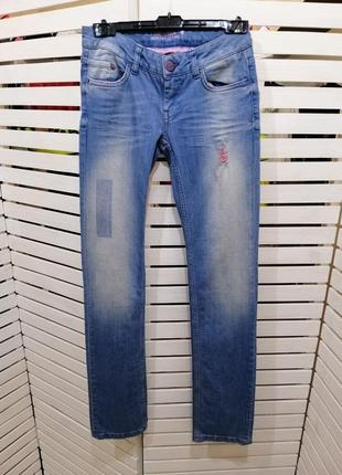 """Джинсы светло-голубые, прямые """"bonobo jeans"""""""