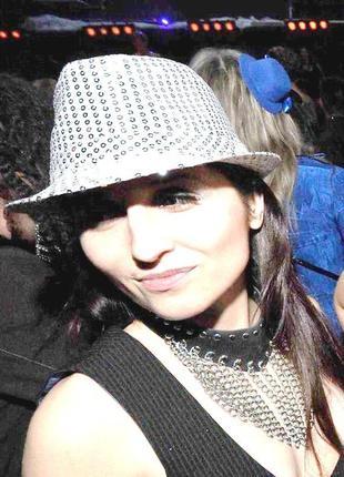 Шляпа для вечеринки в пайетки