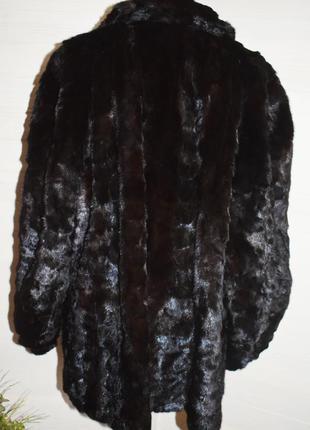 Норковая шубка большой размер, батал3 фото