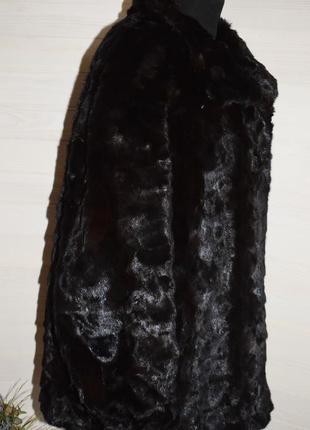 Норковая шубка большой размер, батал4 фото