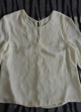 Шифоновая блуза с вырезом на спинке okeysi s