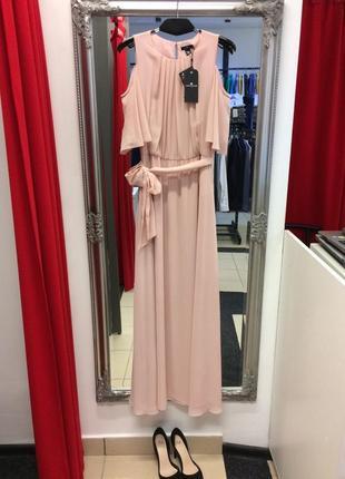 Платье с открытыми плечами немецкого бренда tom tailor (2).