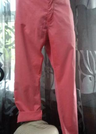 Классные, стильные летние джинсы стрейч, большого размера.