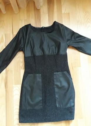 Платье с твида