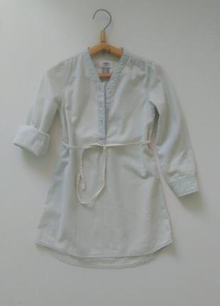 Платье рубашка old navy для девочки р.110-116 на 5 лет