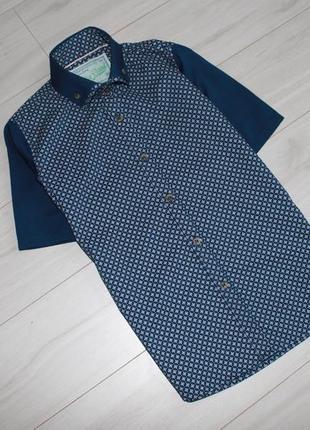 Рубашка тенниска 100% хлопок на 7-8 лет next