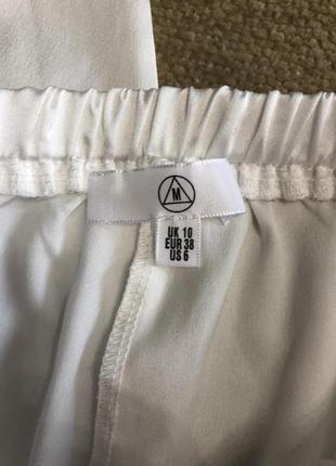 Атласные пижамные штаны missguided, новые!5 фото